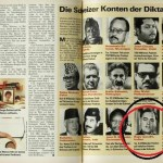 Picture about Rajiv Gandhi Holds 2.5 Billion in Swiss Bank - Swiss Magazine Schweizer Illustrierte