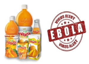 Picture Suggesting Important Message from Hyderabad Police - Maaza Contaminated with Ebola