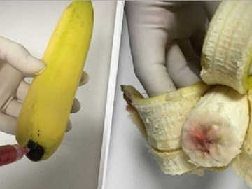 Picture Suggesting Bananas Injected with HIV-Infected Blood Worldwide
