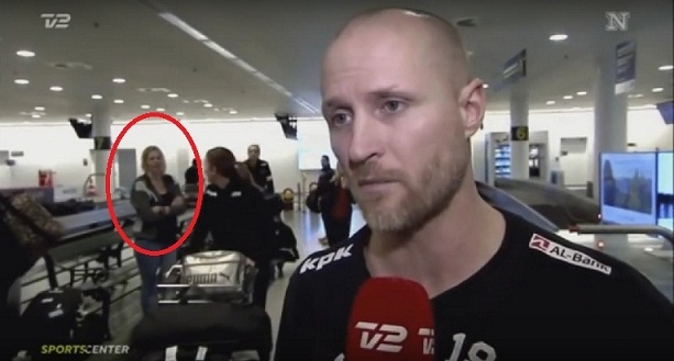 Picture Suggesting Woman Disappears During Live TV Broadcast