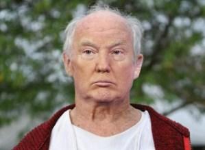 Donald Trump with No Wig or Makeup Photograph