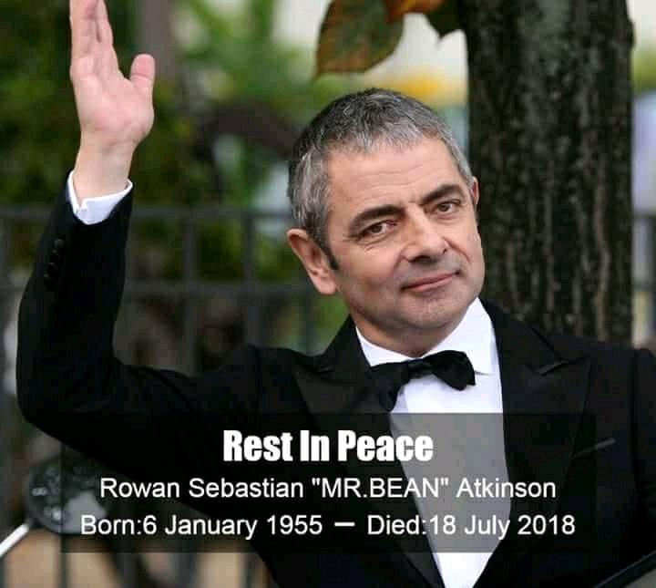Image about Mr. Bean Rowan Atkinson Died After Committing Suicide