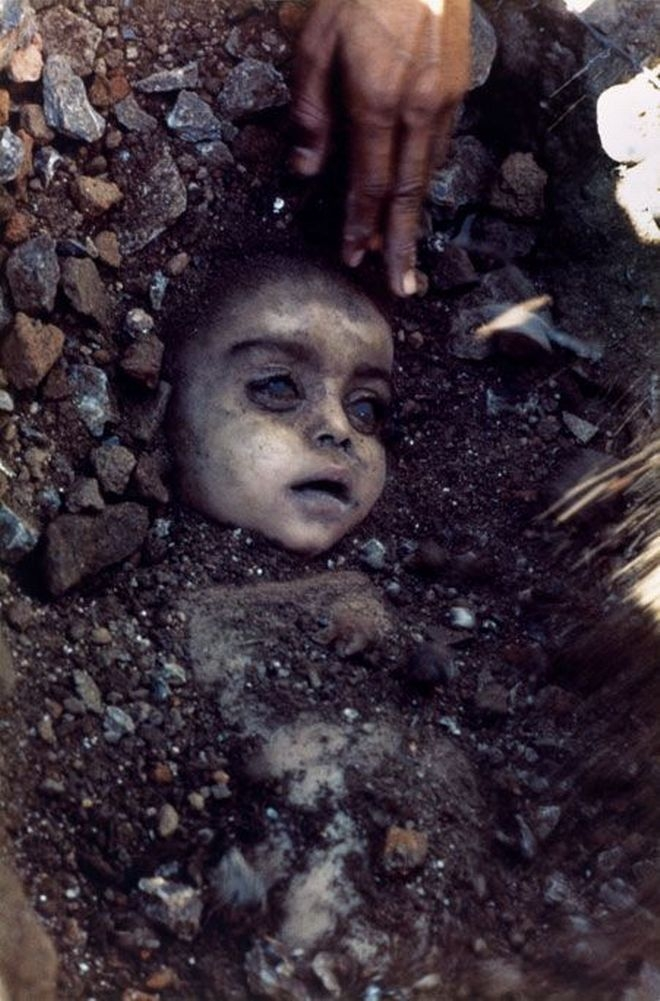 Picture about Muslim Man Killed Wife and Buried Children Alive, Miracle Save by Jesus