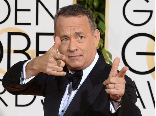 Picture Suggesting Tom Hanks Backs Donald Trump for President
