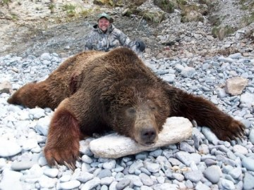 Picture Suggesting Jimmy John's Sandwich Owner is a Big Game Hunter