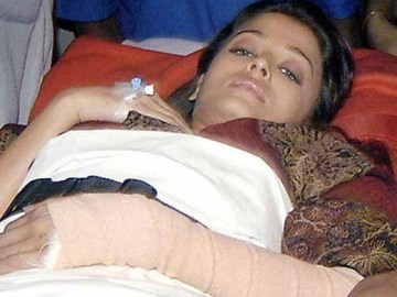 Picture Suggesting Bollywood Actress Aishwarya Rai Bachchan Committed Suicide