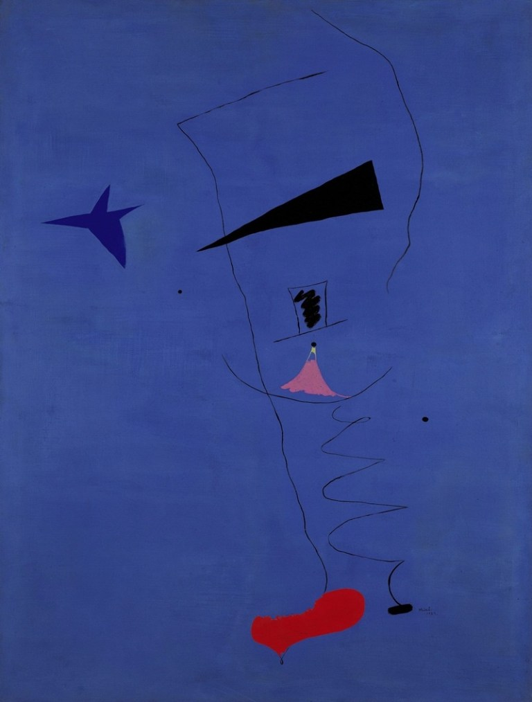 Picture Suggesting Child-like Painting by Joan Miró Sold for $37 Million