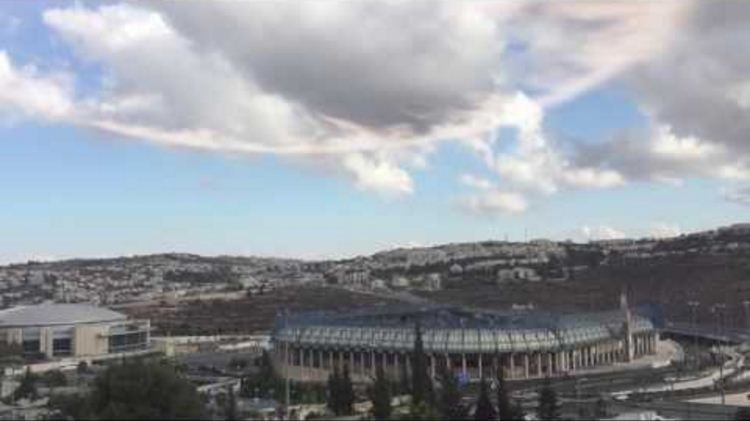 Picture about Miraculous Phenomenon Over Jerusalem, 'Ring of Fire' and 'Air Trumpets' in Sky