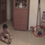 Picture Suggesting Poltergeist Caught on CCTV, Haunted Doll Terrorizing a Young Girl