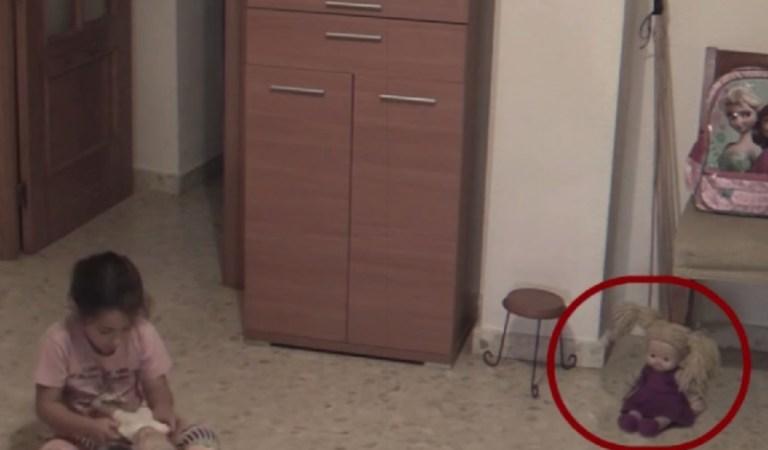 Poltergeist Caught on CCTV, Haunted Doll Terrorizing Girl: Fact Check