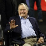 Picture Suggesting Former U.S President George H.W. Bush Died of a Heart Attack
