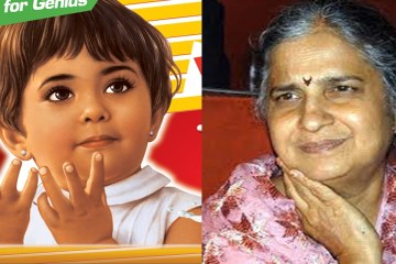Picture Showing Parle-G Poster Girl Niru Deshpande Completed Her 60 years