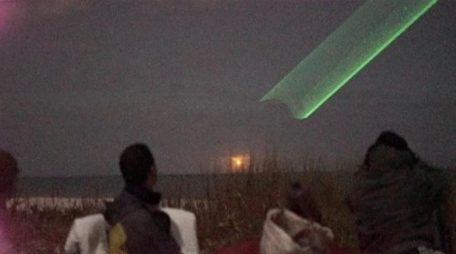 Image about Twin UFOs Witnessed & Recorded by Dozens in Vero Beach, Florida