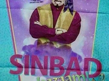 Picture that Comedian Sinbad Played Genie in 1990's Children's Movie Shazaam