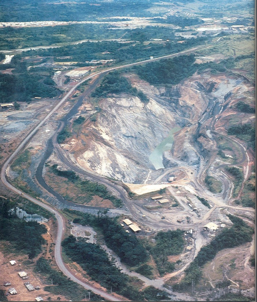 Picture of Okla Mine Site in Gabon, West Africa