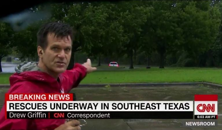 CNN Staged a Hurricane Harvey Rescue Video: Facts