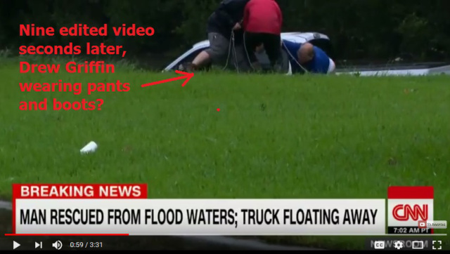 Picture of Drew Griffin in Dark Pant and Boots During Rescue