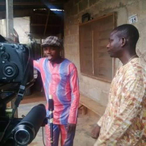 Picture of Yoruba movie actor Tunde Usman aka Okele