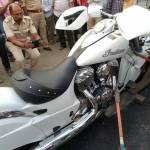 Picture: 10 Crore Imported Bike Gifted to Son by a MLA in India