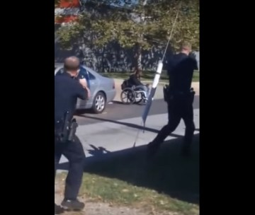 Image Showing Delaware Cops Shot Paralyzed Man in Wheelchair