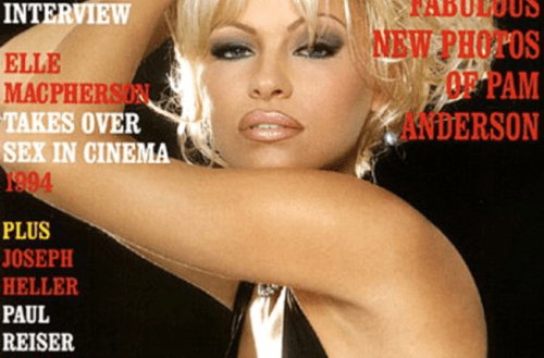 Picture of Pamela Anderson on Playboy Magazine