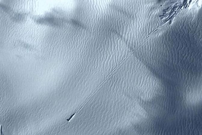 UFO Crash Landing in Antarctica: Google Earth Images – Fact Check