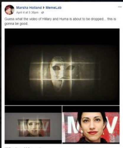 Image about 'Horrific' Hillary Clinton Snuff Film Circulating on Dark Web