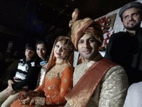 Image of Moomal Khalid Marriage with Usman Patel