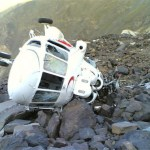 Image Suggesting Ajay Devgan's Helicopter Crashed Near Mahabaleshwar