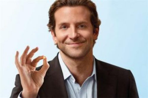 Image of Bradley Cooper Showing Limitless Pill