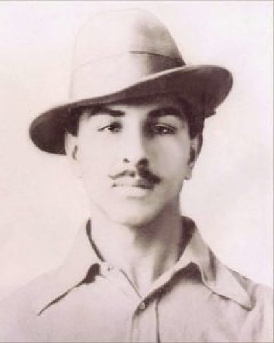 Image of Bhagat Singh when he was 21 years old