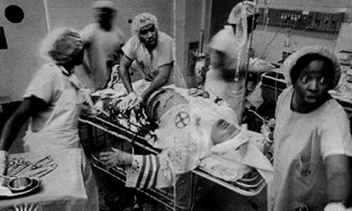 Photograph of Black Physicians Saving KKK Member: Fact Check