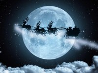 Image about Rare Full Moon On Christmas Day