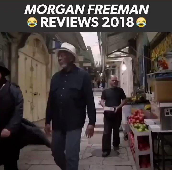 Image from Morgan Freeman Reviews 2018, Video