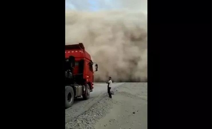 Huge Clouds Falling on Ground in China, Video: Fact Check