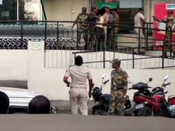Image about Terrorist Caught Planting Bomb Inside DMart Shopping Mall, Video