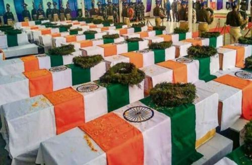 Image of Tribute to CRPF Jawans
