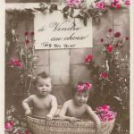 Babies for Sale - Series of Staged Photograph Post Cards