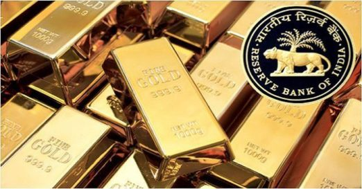 Image about Govt. Modi Mortgaged 268Tonnes Gold of RBI Outside India