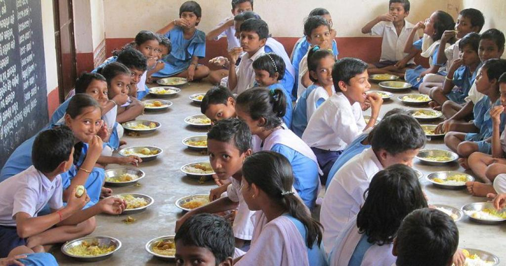 Image of Midday Meal Meal Serving