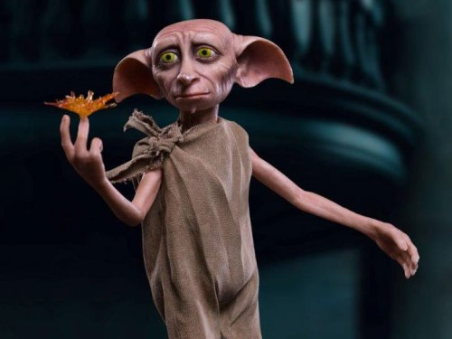 Image of Dobby, the free Elf in the Harry Potter films