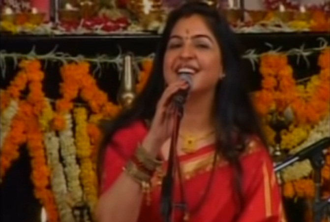 Image about Mohd Rafi's Daughter Singing Lord Krishna Songs