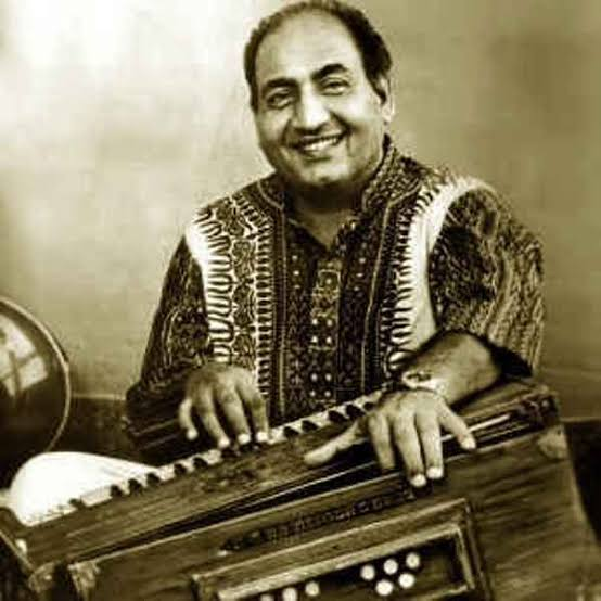 Image of Legendary Hindi playback singer Mohammed Rafi