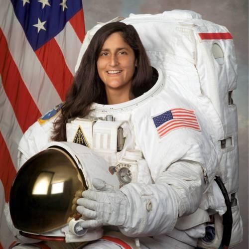 Image of Sunita Williams, American astronaut of Indo-Slovenian descent