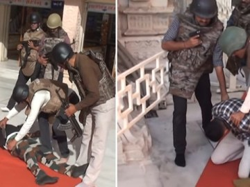 Image about Video of Terror Attack at Maa Ambaji Temple in Gujarat