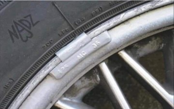 Image about Government Tracking Device On Your Vehicle Wheels