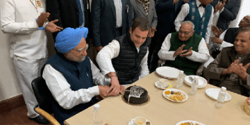 Image about Manmohan Singh Not Free to Cut His Own Birthday Cake