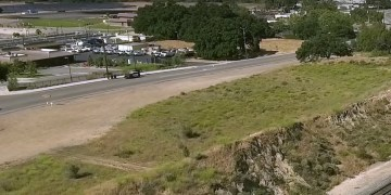 Image about Motorcycle Rider Jumps Train Tracks to Evade Police, Video