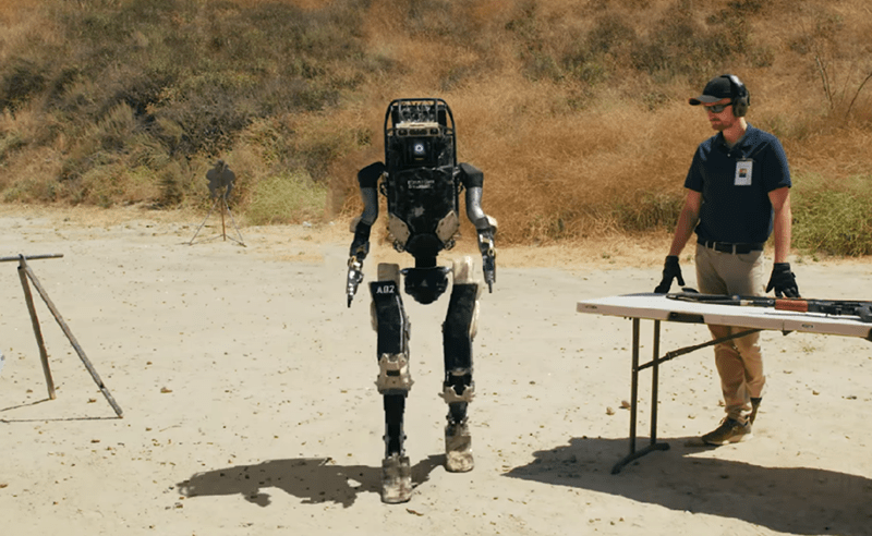 Image about New Military Robot to Outdate Soldiers in Army, Video