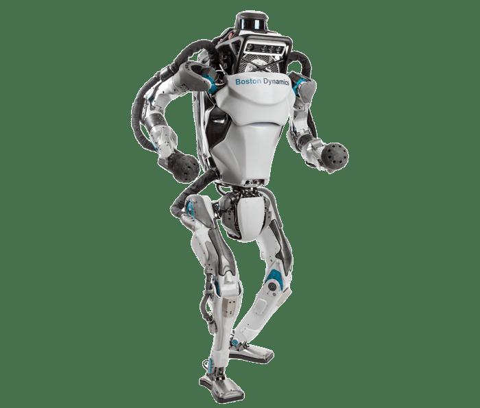 Image of Atlas, humanoid robot of Boston Dynamics